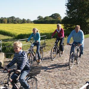 Familie fiets