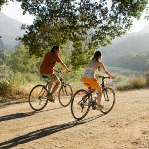 Stel op fiets